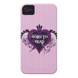 Born to Bead heart design Case-Mate iPhone 4 Cases