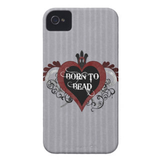 Born to Bead heart design iPhone 4 Case-Mate Cases