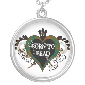 Born to Bead necklace (green)