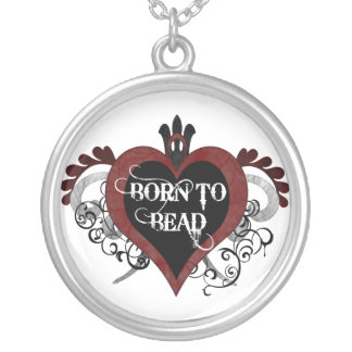 Born to Bead necklace (red)