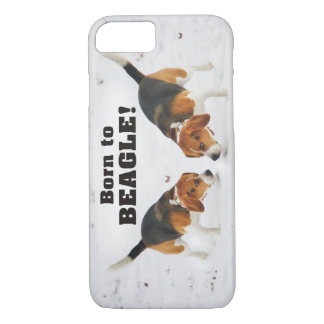 Born To Beagle iPhone 8/7 Case