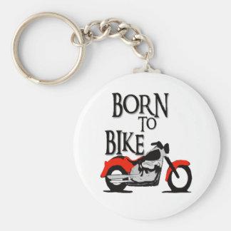 Born to Bike Keychain