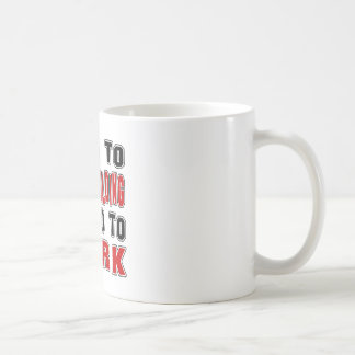 Born to Body Building forced to work Mug