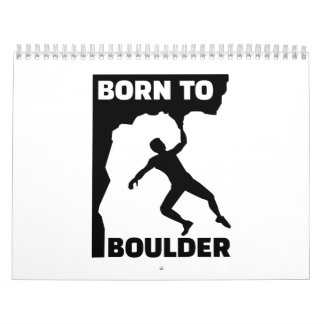 Born to Boulder Calendar