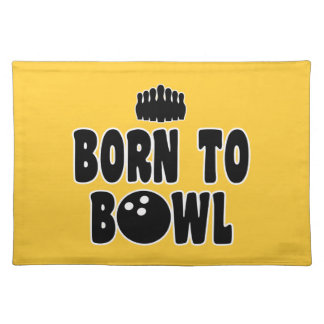 Born To Bowl Placemats