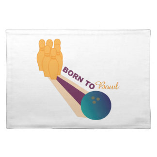Born To Bowl Place Mats