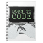 Born to Code Spiral Note Books