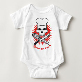 born to cook tshirt