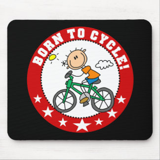 Born to Cycle Mousepad