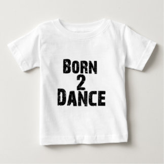 Born to Dance Black Shirt