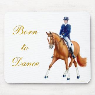 Born to Dance Dressage Mousepad