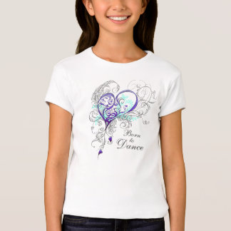 Born to Dance Girls Babydoll T (customizable) T-Shirt