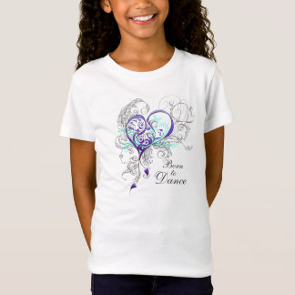 Born to Dance Girls Babydoll T (customizable) T-Shirt