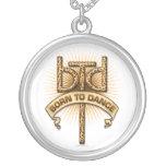 Born To Dance (leopard) Custom Necklace