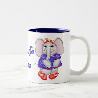 Born to Dance Two-Tone Coffee Mug