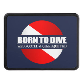 Born To Dive (rd) Trailer Hitch Cover