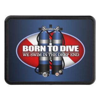 Born To Dive (ST) Tow Hitch Cover
