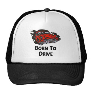 Born To Drive Mesh Hats