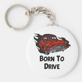Born To Drive Keychain