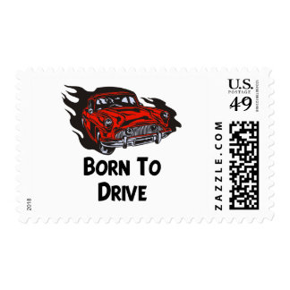 Born To Drive Postage