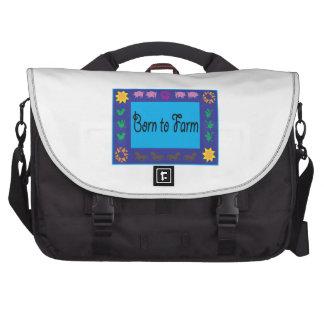 Born To Farm Laptop Computer Bag