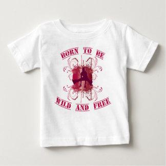 born to fieramente and free remeras