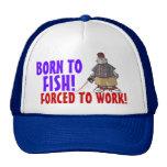 Born to Fish Cap Trucker Hat