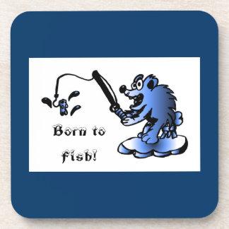 Born to fish Coaster Set