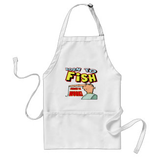 Born To Fish Fishing T-shirts and Gifts Apron