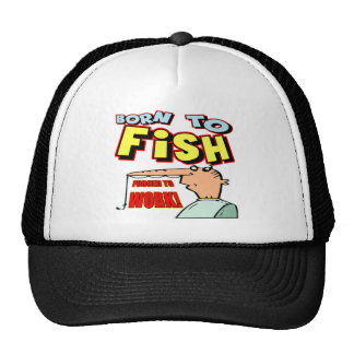 Born To Fish Fishing T-shirts and Gifts Mesh Hats