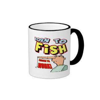 Born To Fish Fishing T-shirts and Gifts Coffee Mugs