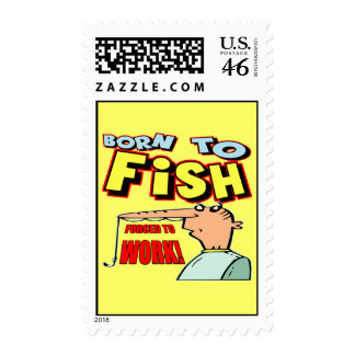 Born To Fish Fishing T-shirts and Gifts Postage