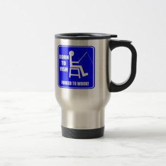 Born To Fish Fishing T-shirts Gifts Travel Mug