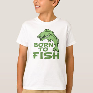 Born to Fish for Bass T-Shirt