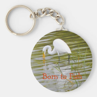 Born to Fish Key Chains
