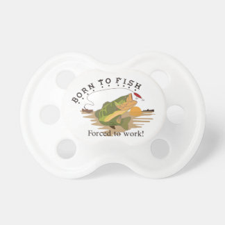 Born to Fish Pacifier