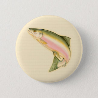 Born to Fish Pinback Button