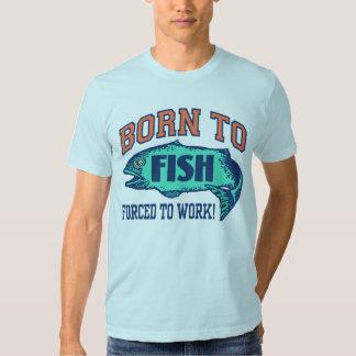 Born To Fish T Shirt