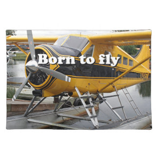 Born to fly: Beaver float plane Placemat