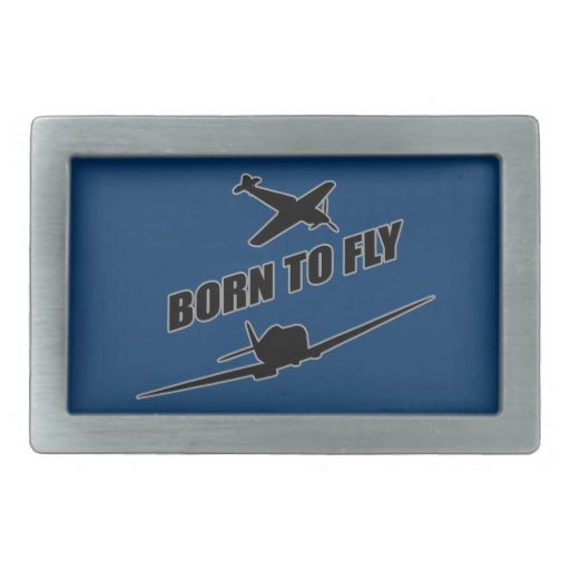 Born To Fly Belt Buckle