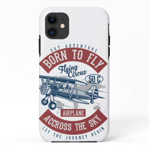 born to fly iPhone 11 case