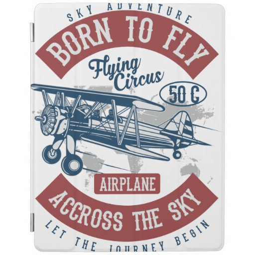 born to fly iPad smart cover