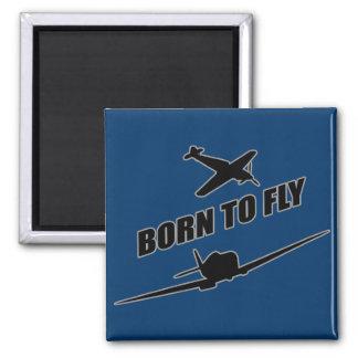 Born To Fly Fridge Magnets