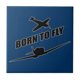 Born To Fly Ceramic Tile