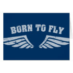 Born To Fly Wings Cards