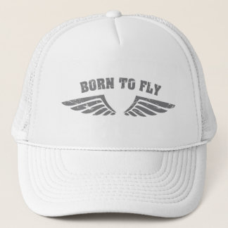 Born To Fly Wings Trucker Hat