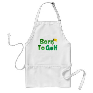 Born To Golf Adult Apron