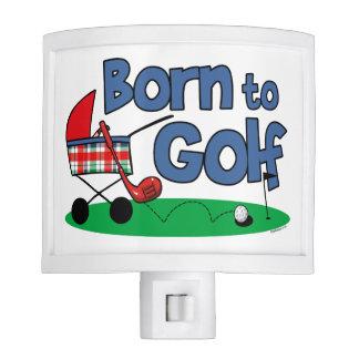 Born To Golf Night Light