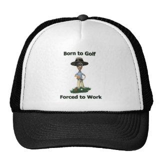 Born to Golf Trucker Hat