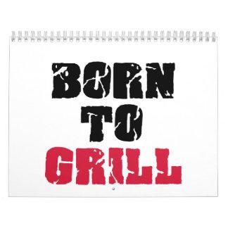 Born to grill calendar